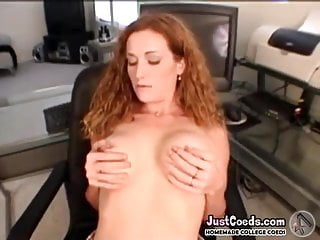 College football dick quartback - Gf redhead college babe sucks good dick and takes heavy sex