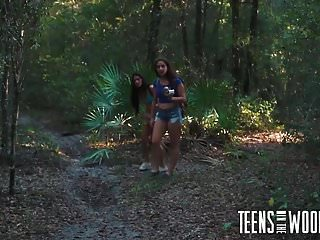 Horror porn tube movies - Horror porn with 2 helpless teen girls in woods