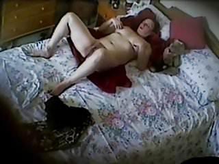 Irresponsible sexual indulgence we dercy - Wifes aunt indulging herself. hidden cam mast
