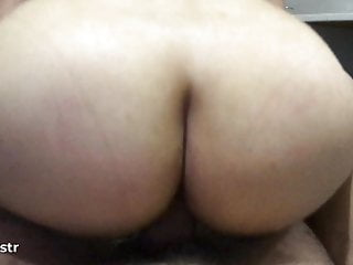 My dick in fat mans ass Big fat ass gf love to be on my dick