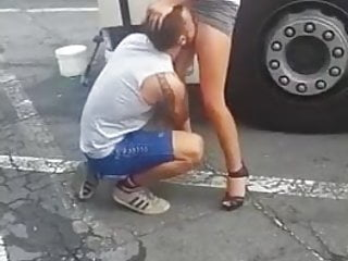 Redneck pussy sites - Redneck eating pussy in public