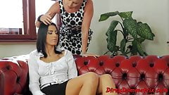 Anally drilled domina gets facialized