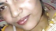 Desi Randi boob press her client
