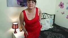 Naughty British Housewife Masturbating