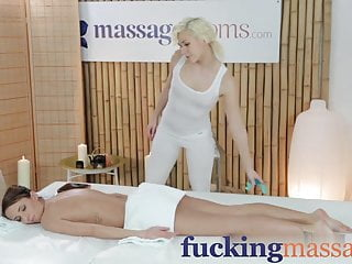 Young lesbian porn Massage rooms young lesbian girlfriends share sensual orgasm