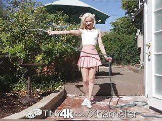 Tiny small dick Tiny4k hazel eyed tiny blonde elsa jean big dick pounding