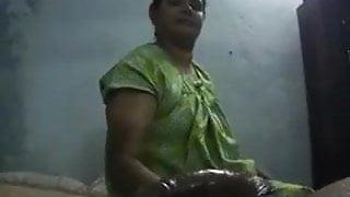 Step Mom giving handjob