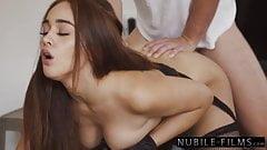 Stunning Spaniard Ginebra Belluci Passionately Pounded