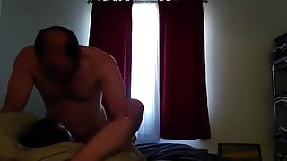 handsome attractive baldy hunk fucking so good