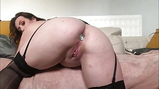 Stuffing my two little holes with my favorite toys92
