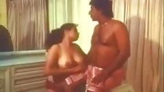 Oil massage aunty with boyfriend