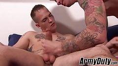 Hot Ryan Jordan and Richard Buldger fucking hard and raw