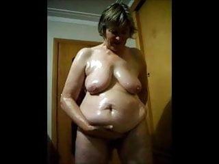 Pretty granny nude blond Granny nude