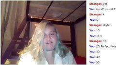 BBW 18 year old naughty on Omegle