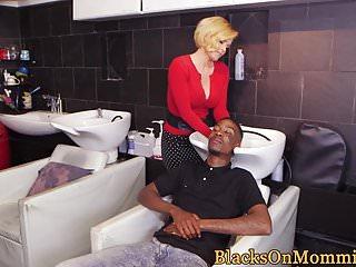 Black classy nude video free - Bigtitted classy milf fucks black guys in mmf