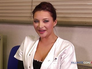 Busty doctor fucks He fucked her in front of the busty doctor