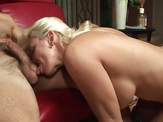 Busty blondes getting banged deep - Busty milf gets her pussy licked before hunk bangs her