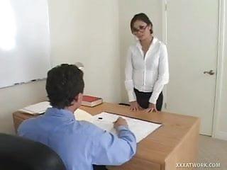 Asian secretary slutload Hot asian secretary fucked on desk