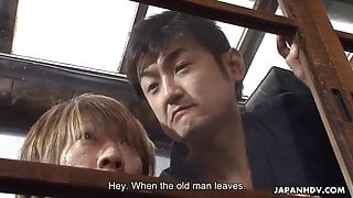 Nene Nagasawa getting ravaged by the randy dudes