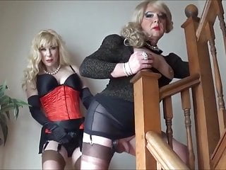 Sexual transmission of hepatitis c Angelique fucked by madame c on the stairs