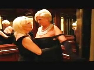 Fergie lesbian action Lesbian action 16 two classy blonde gilf