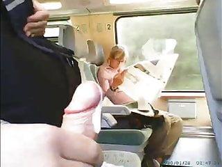 Train cumshot - Train cumshot