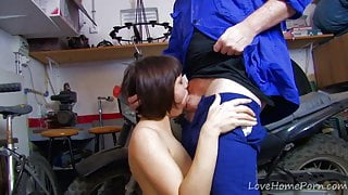 Enthusiastic Brunette Loves To Suck And Fuck.mp4