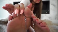 Chastity slave for my feet