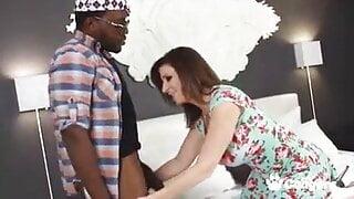 Sara Jay and 2 big black cocks