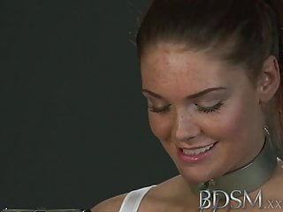 Rough man spank - Bdsm xxx beautiful sub does not know when to shut up