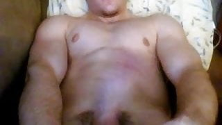 Young stud jacking off