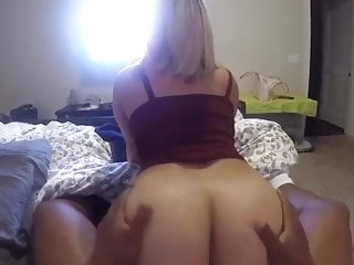 Hot ass show - Big booty blonde taking black dick showing her hot ass