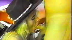 Blond Alana Red Longnails
