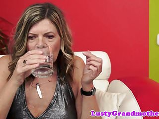 Hairy mature granny Hairy mature banged after amazing blowjob
