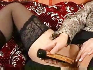 Mature women in black stockings - Mature mom in black stockings