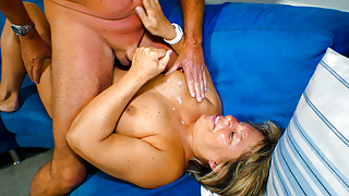 AmateurEuro -Horny Granny Karin A. Knows To Please Her Hubby
