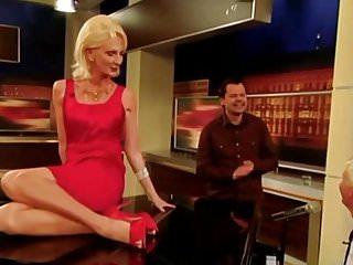 Tv show pussy - Desiree nick cum gilf spagat upskirt pussy klavier tv show