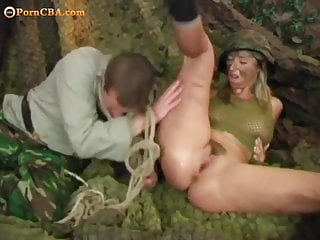 Soldier and girl porn Soldier girl deals with her prisoner