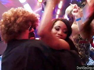 Club hardcore have in lesbian sex strip Bi club slags having public sex orgy