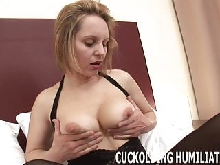 Right bikini for me - Watch me swallow a big black cock right in front of you