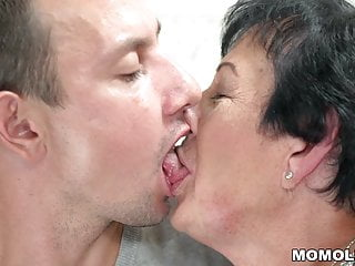 Lewd sexual terms - Lewd granny fucks a young guy