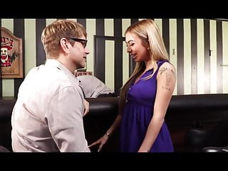 Ordering from adult video universe Horny wife orders a big cock from bartender