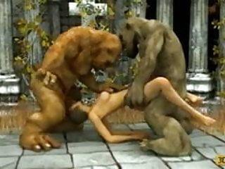Ogre sex video 2 ogrs fuck cuttie