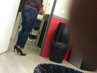 French milf secretary sucked Colleague in high heels pumps 8