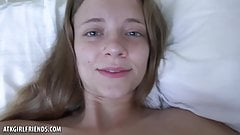 You Give Riley Star Her Morning Creampie