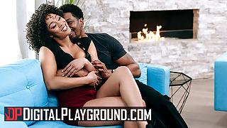 Isiah Maxwell Licks And Fucks Misty Stones Shaved Pussy