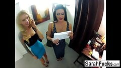 GoPro threeway with Sarah, Jessica, & Mark