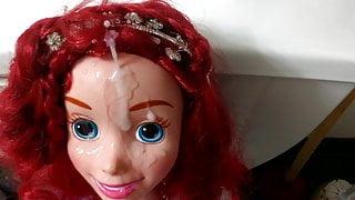Ariel Little Mermaid My Size Doll cum tribute