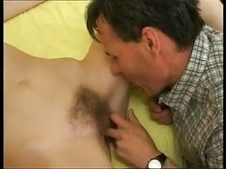 Young girl fucked by man Young hairy girl fucked by older man