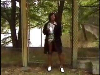 Ebony car suck - Crazy ebony mom fuckin in the car and outdoor